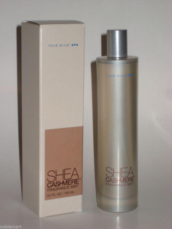 True blue spa bath body works shea cashmere fragrace mist for True blue bathrooms