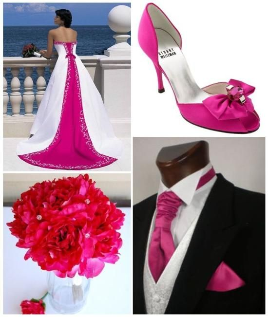 Colour Your Day Wedding Trends Ja Ik Wil Pinterest Fuschia Google Images And Bright Pink
