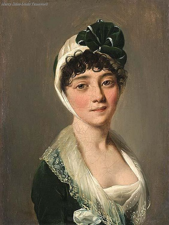 Louis Leopold Boilly, Portrait of a Young Woman c.1800-1825.