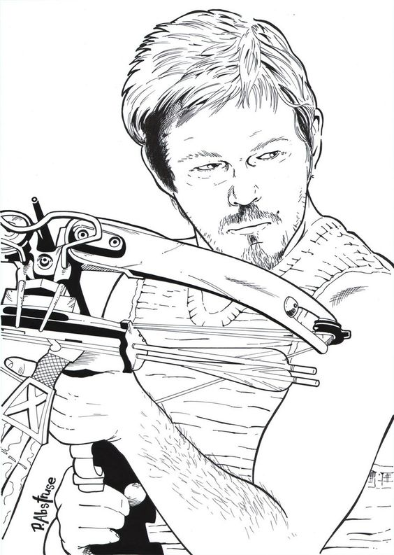 Pin by cathy simms on walking dead coloring book for The walking dead coloring pages