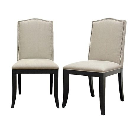 I pinned this Baxton Studio Baudette Dining Chair (Set of 2) from the Sunday Brunch event at Joss and Main!