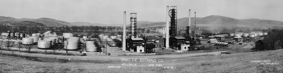 wellsville, NY photos | Sinclair Refining Co. - Wellsville, New York - North End - 4/20/32