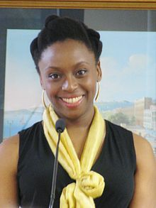 "Chimamanda Ngozi Adichie (born 15 September 1977) is a Nigerian writer. She has been called ""the most prominent"" of a ""procession of critically acclaimed young anglophone authors that is succeeding in attracting a new generation of readers to African literature"""