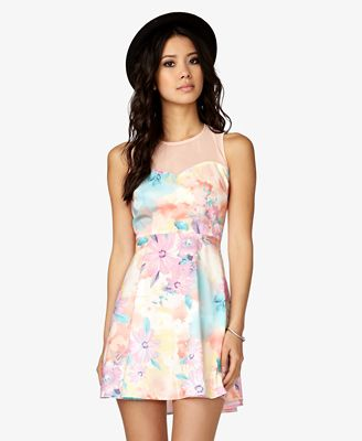 Sweetheart Floral Dress from Forever 21- $19.80