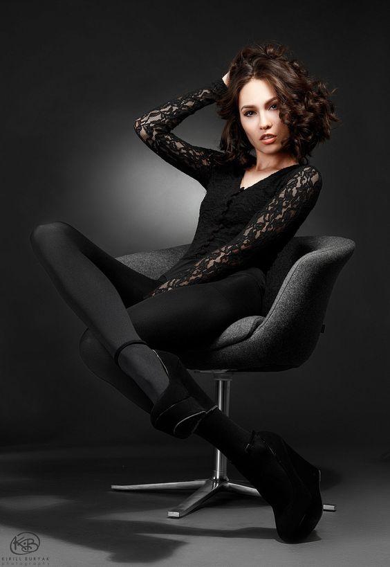 Victoria in Black by Kirill Buryak on 500px
