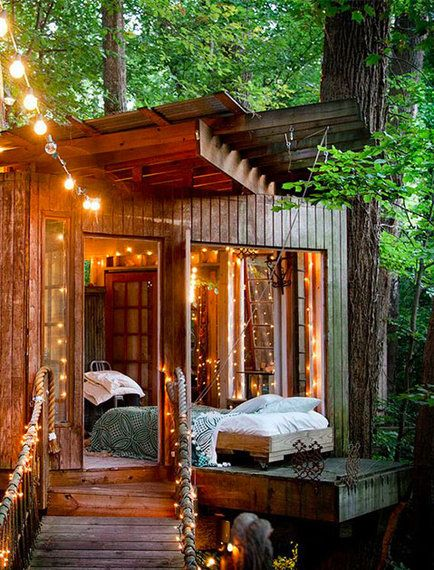 Transform your tool shed into a glamorous backyard escape