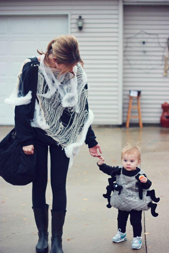 Cheap easy warm comfy Halloween costume idea for mom and baby - the - mom halloween costume ideas