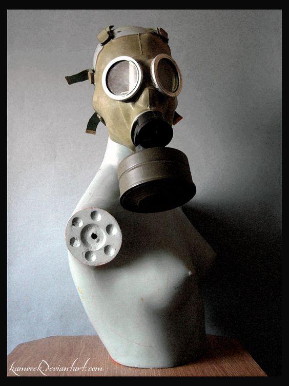 Toxic Mannequin by ~Kamorek