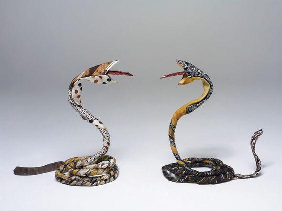 slangen van stropdassen