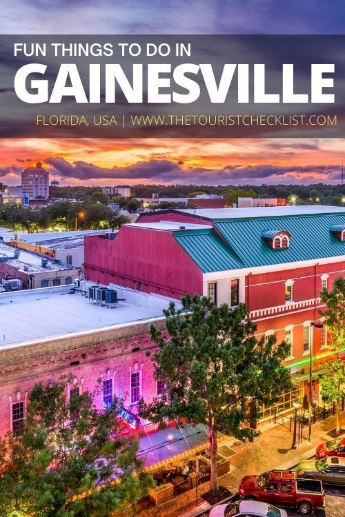 32 Best Fun Things To Do In Gainesville Florida Travel Usa Us Travel Destinations Fun Things To Do