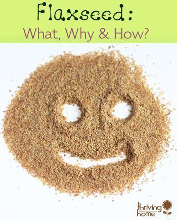 Great explanation of why we should use ground flax seed in our cooking.  Also some great tips and recipes that use flaxseed.: