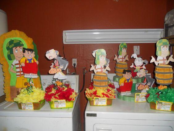 El chavo animado decoraciones y manualidades infantiles for Manualidades decoracion infantil