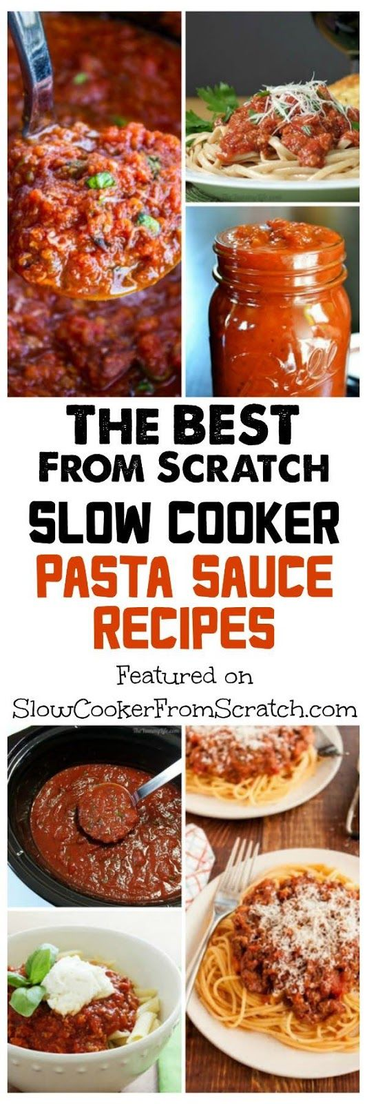 Slow cooker pasta, Pasta sauces and Pasta sauce recipes on Pinterest