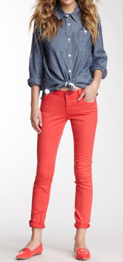 Insanely Cute Skinny Pants Outfits