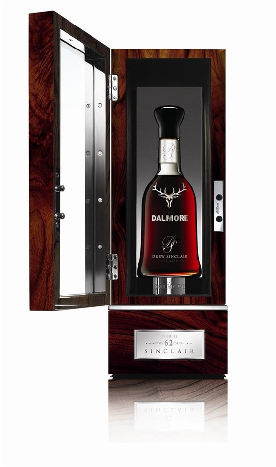 The Worlds most exspensive whisky, from Dalmore, 62 years old.