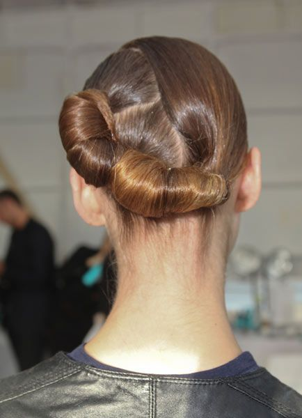 #NYFW fall/winter #hair trends 2014-- See more on www.salonmagazine.ca