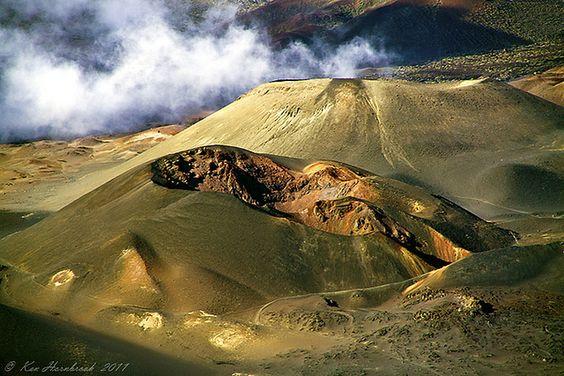 Haleakala Crater, Maui. By Ken Hornbrook: