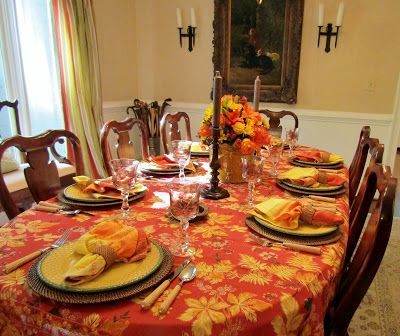 A Toile Tale: Dinner Club in the Fall