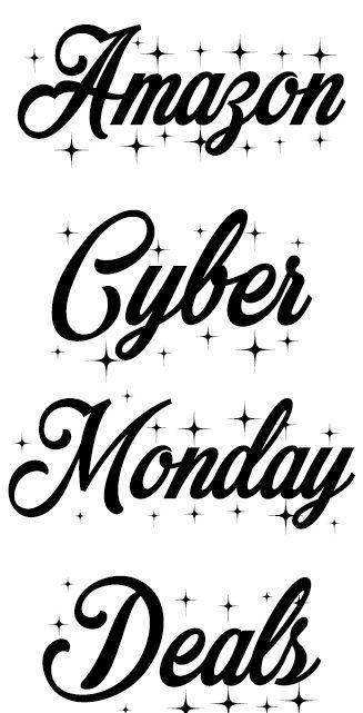 Amazon Cyber Monday Deals #Cyber #cybermondayDeals CyberSale