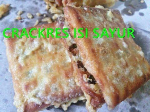 Cara Membuat Crackers Hatari Isi Sayur Kreasi Biskuit Hatari Youtube Crackers Food Breakfast