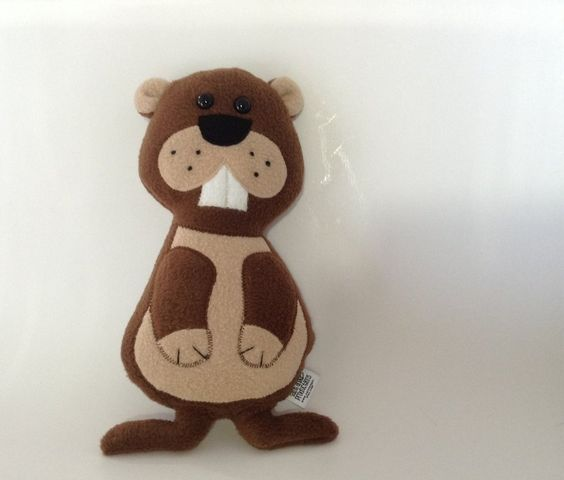 Stuffed Groundhog Animal Plush by Saint-Angel