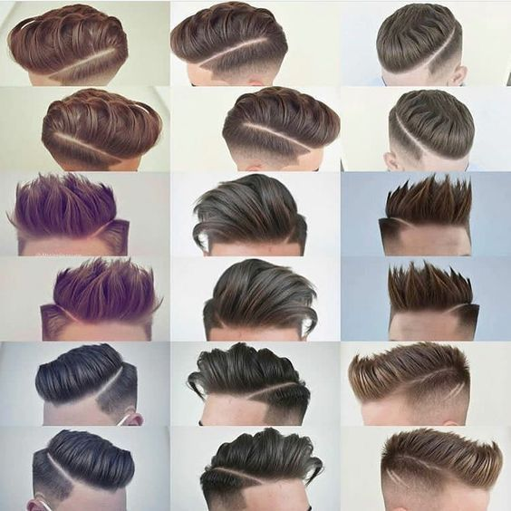 25 Cortes de cabello de hombre de lado