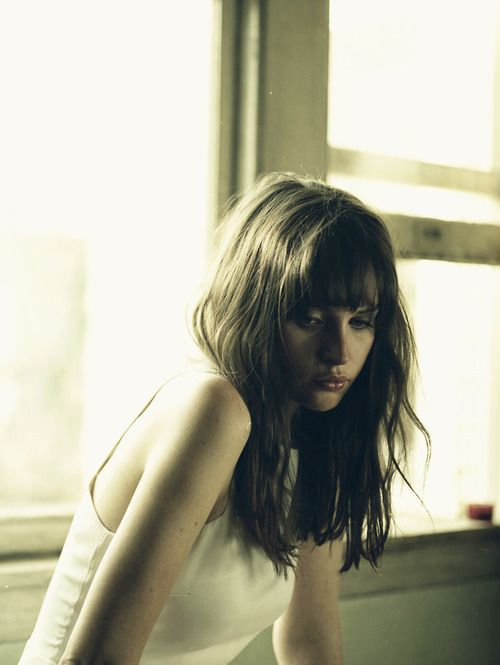 Felicity Jones.  Lovely British actress. Played a lovely part as Ann Franks sister in the TV drama The Diary of Ann Frank.