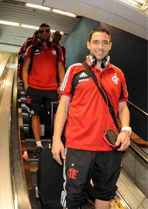 Desembarque do Flamengo em Belo Horizonte