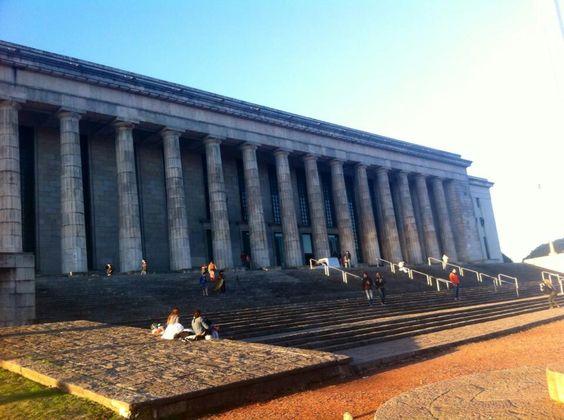 Faculdade de direito sa UBA. Universidade de Buenos Aires.