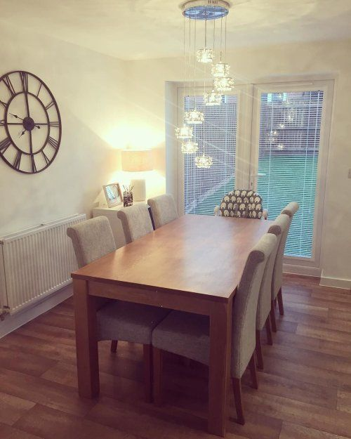 Perfect For Modern And Traditional Homes Alike Our Contemporary Dining Table And Accessorie Oak Furniture Land Contemporary Dining Table Farmhouse Dining Room