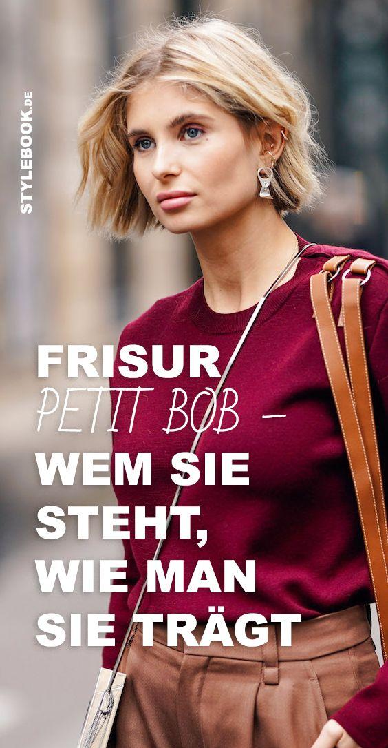 Der Petit Bob Wem Die Frisur Steht Wie Man Sie Tragt Frisuren Schmales Gesicht Bob Frisuren Rundes Gesicht Kinnlange Haare Frisuren