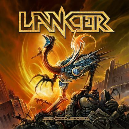 "MUSIC EXTREME: LANCER RELEASES ""SECOND STORM"" #lancer #metal #speedmetal #powermetal #sweden #arvika"