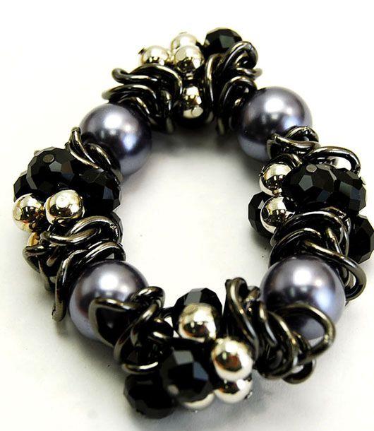 pulsera collar cuero-Distribución de complementos bisutería y accesorios de moda