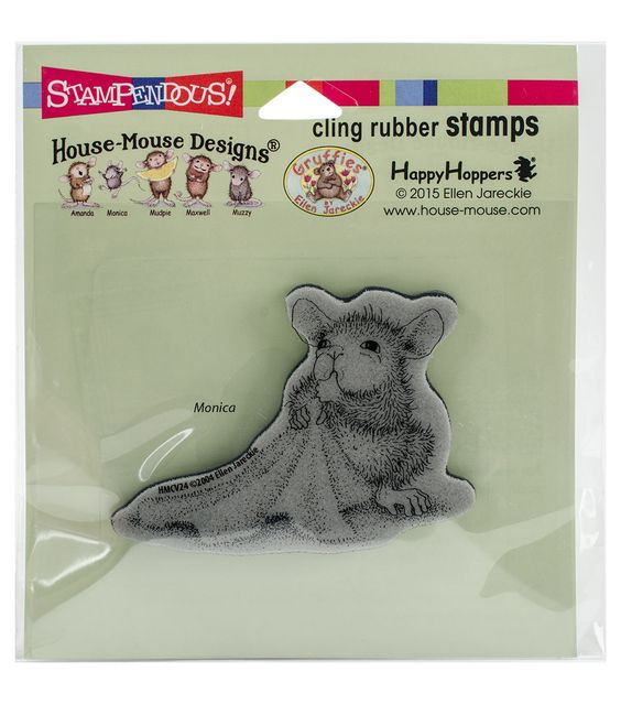 Stampendous® House Mouse Cling Stamp-Baby Blanket