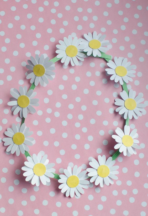 how to make a daisy chain necklace