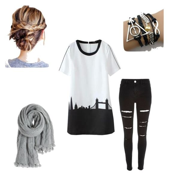 """""""New York Dreamin"""" by wonderlandvillian on Polyvore featuring Calypso St. Barth and River Island"""