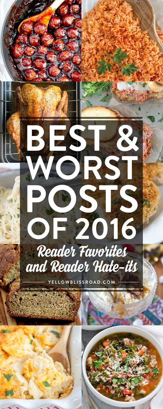 Most Popular Posts of 2016 - and the ones you hated!