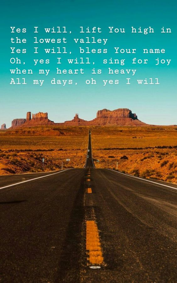 ☆Yes I Will -- Vertical Worship  Wallpaper☆  #Yesiwill #wallpaper #worshipquotes #summerwallpaper #Christianwallpaper