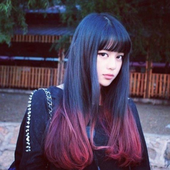 ღ 狐不悔,的相册-Hair Color( o ❤ liked on Polyvore featuring beauty products, haircare and hair color