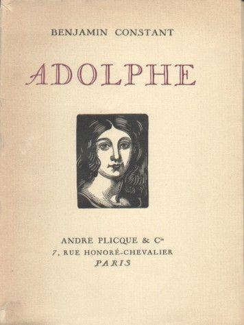 Adolphe by Benjamin Constant