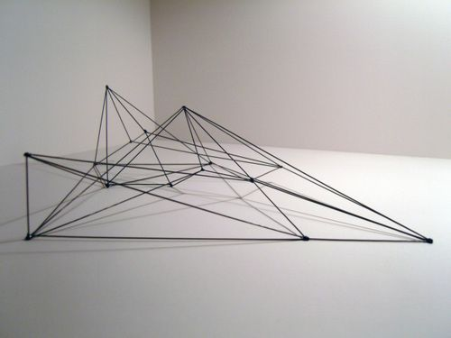 An evocative concept model by andrew david green for Triangle concept architecture