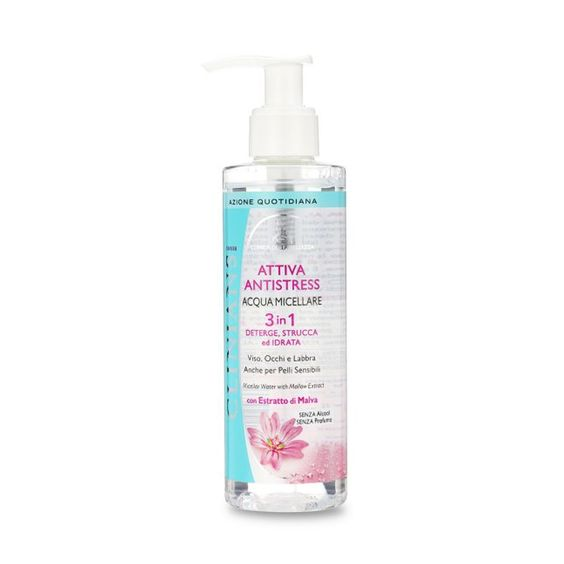 Clinians Attiva Antistress 3 In 1 Micellar Water With Mallow