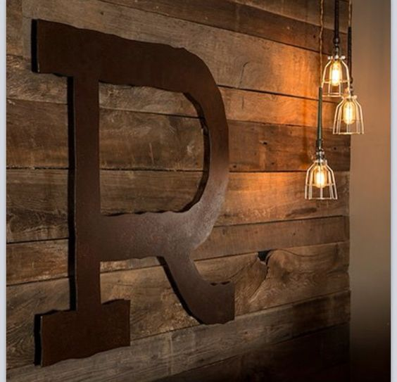Modern Rustic Man Cave : Man cave basement pinterest initials caves and