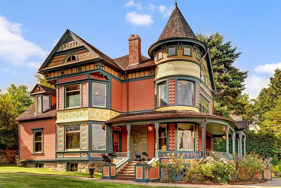 Gorgeous Victorian house, (built in 1892) located at: 1630 36th Ave, Seattle, WA 98122