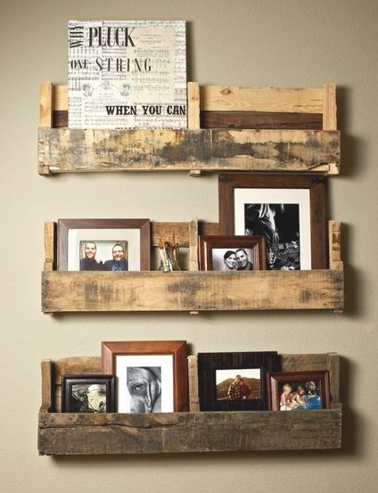 Shelving from palates via colorgirl: A Place for Everything