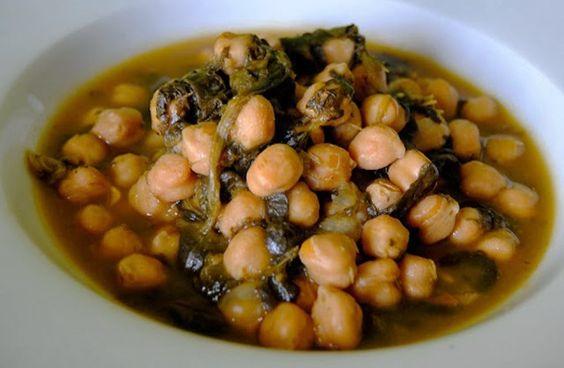 Guiso de Garbanzos con Espinacas | Recetas Veganas Vegetarianas