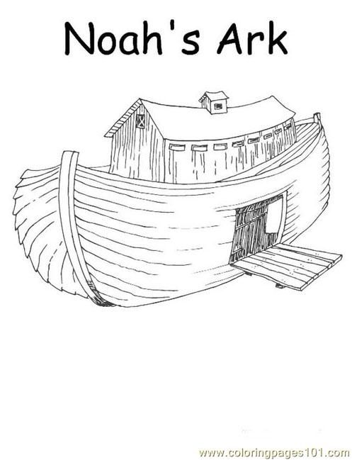 Noah Animals Coloring Pages | Coloring Pages 001 Noah 1 (Other > Religions) - free printable ...