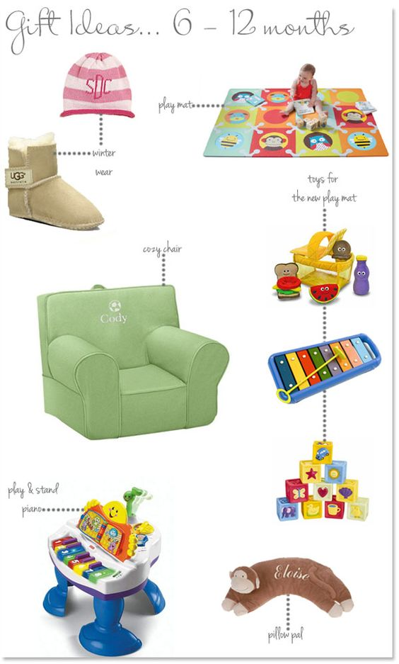 Holiday gift ideas for those 6-12 month olds on your list ...