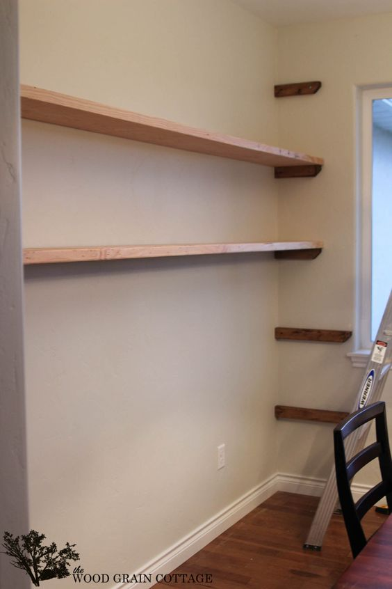 Open Shelving Shelving And Dining Rooms On Pinterest