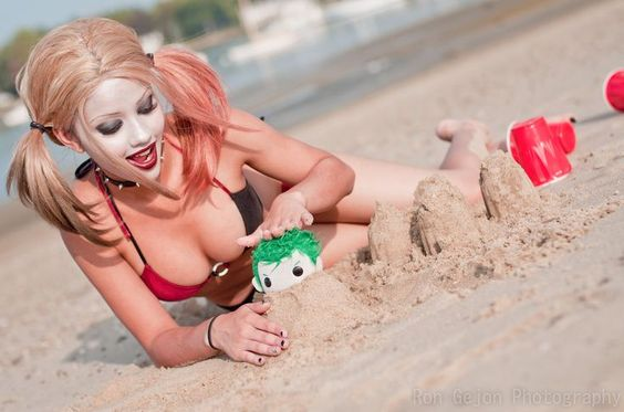 kitty young cosplay harley quinn - Google Search